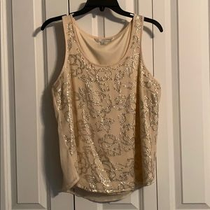 Lauren Conrad sequin blouse